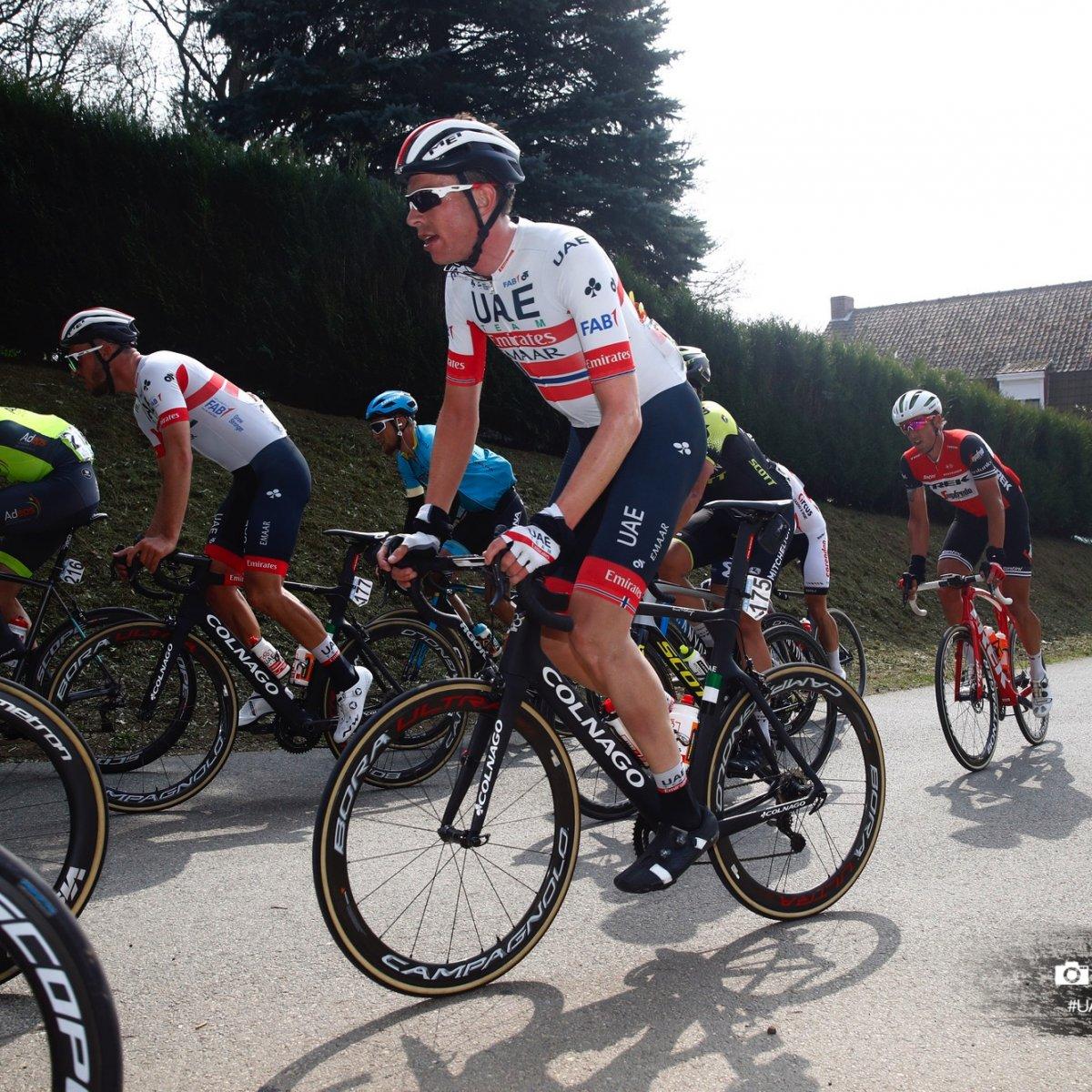 Gent-Wevelgem in Flanders Fields 2019 - 81st Edition - Deinze - Wevelgem  251.5 km - 31/03/2019 - Vegard Stake Laengen (NOR - UAE - Team Emirates) - photo Luca Bettini/BettiniPhoto©2018