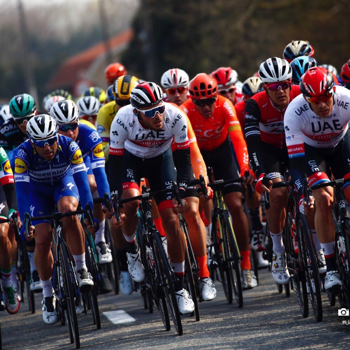 Gent-Wevelgem in Flanders Fields 2019 - 81st Edition - Deinze - Wevelgem  251.5 km - 31/03/2019 - Oliviero Troia (ITA - UAE - Team Emirates) - photo Luca Bettini/BettiniPhoto©2018